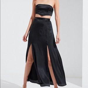 UO slit maxi skirt